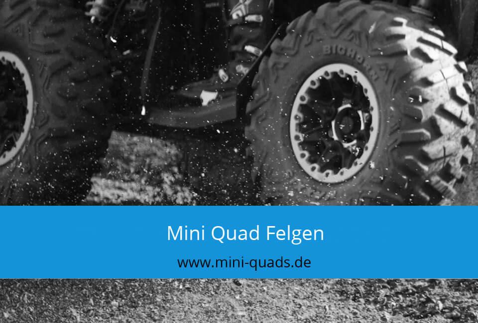 Mini Quad Felgen