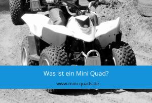 ▶ Was ist ein Mini Quad?