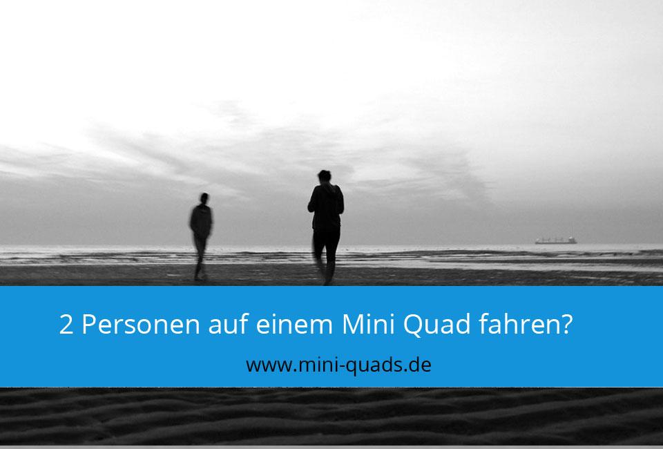 2 Personen Mini Quad