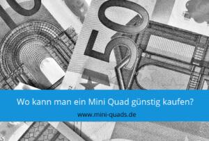 ▶ Mini Quad günstig kaufen – Das sollte man beachten!