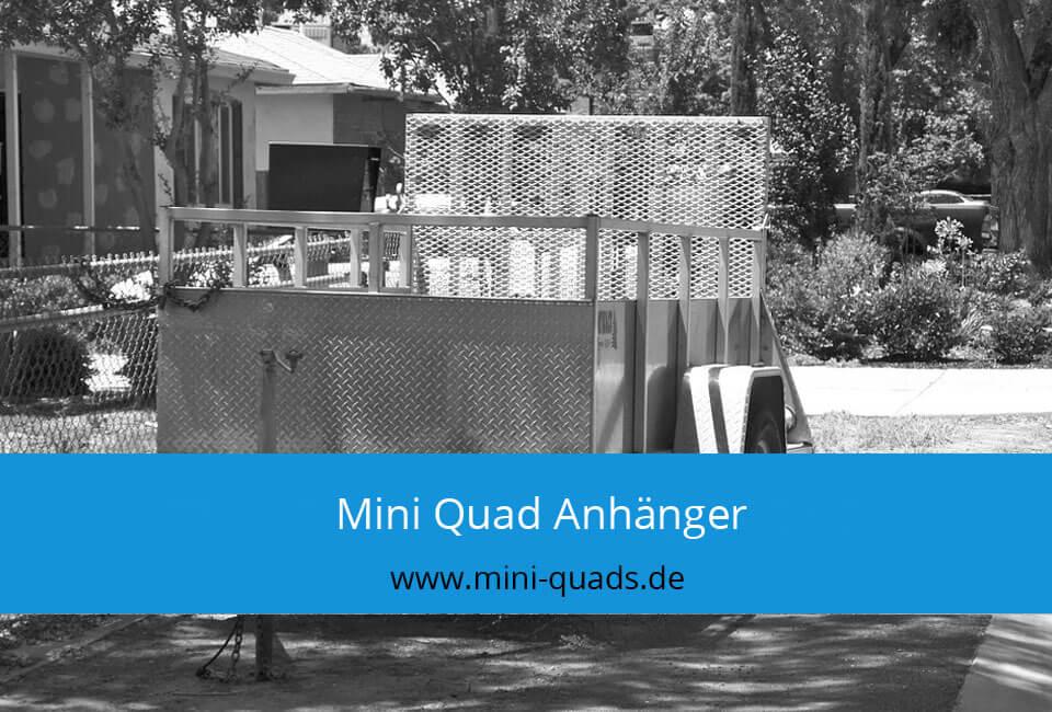 Mini Quad Anhänger